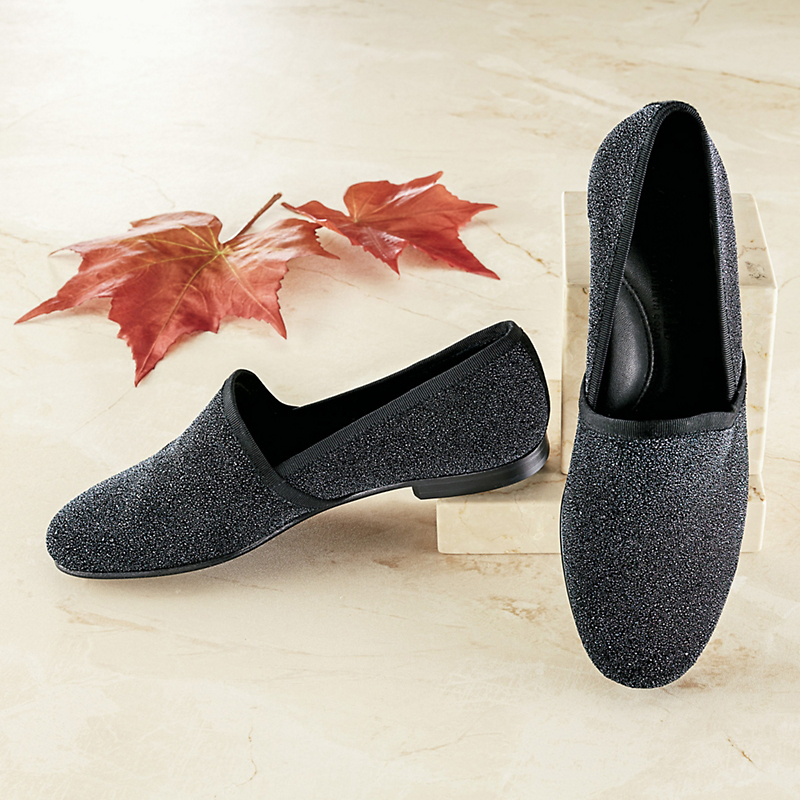 Gentle Souls Caviar Loafers