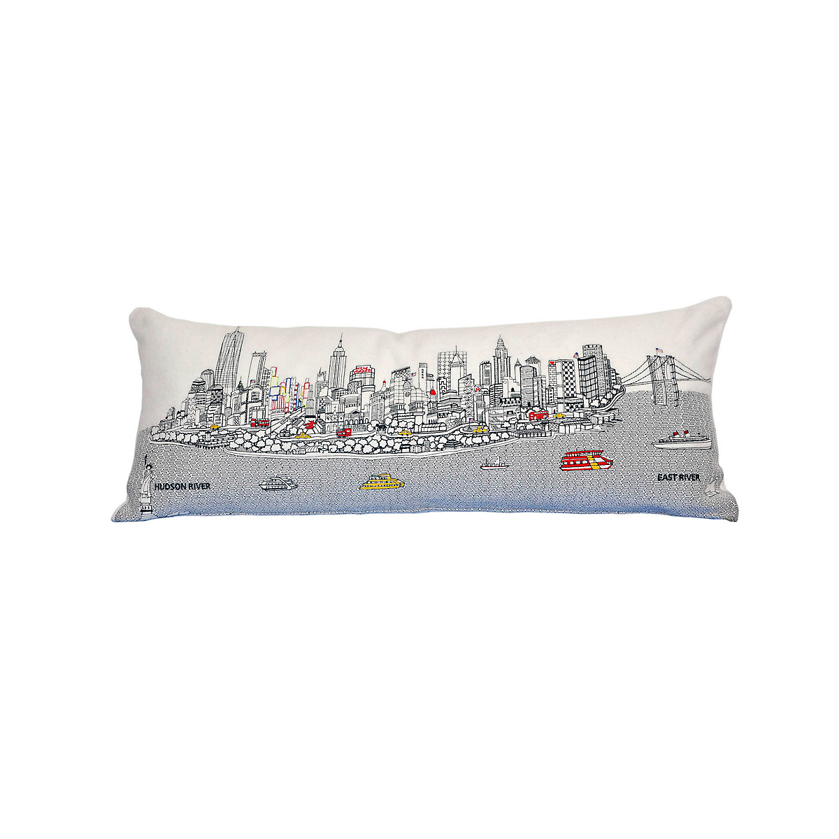 New York City Skyline Pillow