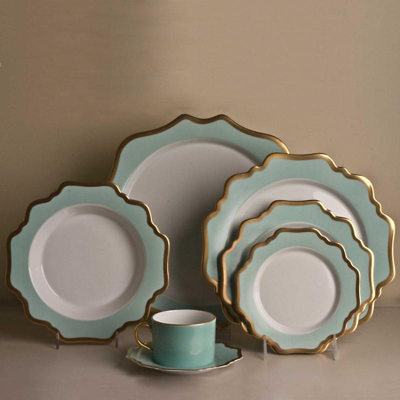 Anna Weatherley Annau0027s Palette Dinnerware, Aqua Green