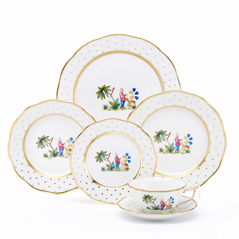 Herend Asian Garden Dinnerware Motif 1  sc 1 st  Gumpu0027s & Formal Dinnerware Sets u0026 Fine China | Gumpu0027s San Francisco